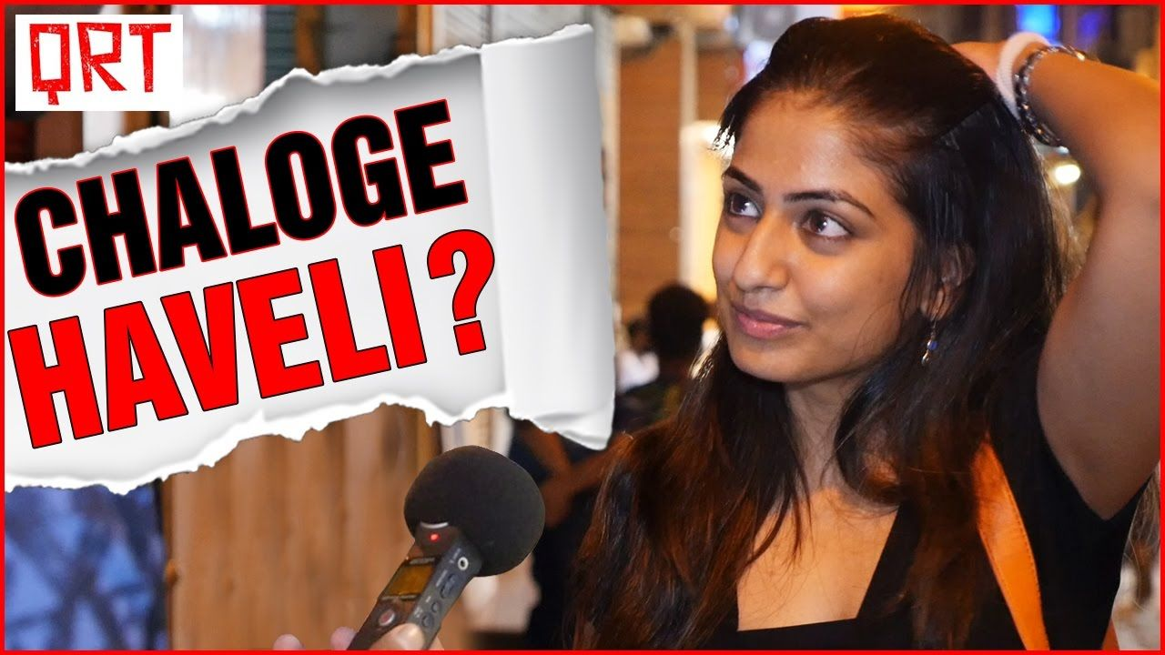 Asking Girls AAO KABHI HAVELI PE Funny pranks, India
