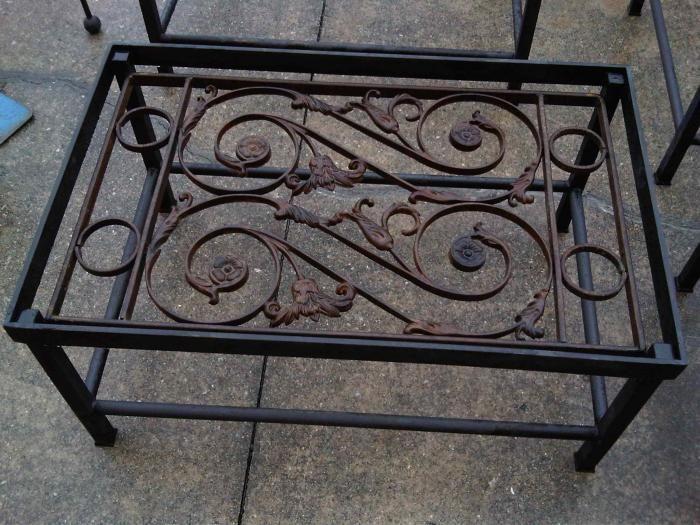 Iron Gate Coffee Table