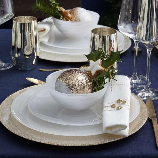 bildergalerie trendxpress festlich gedeckter tisch weihnachtliche deko von leonardo. Black Bedroom Furniture Sets. Home Design Ideas