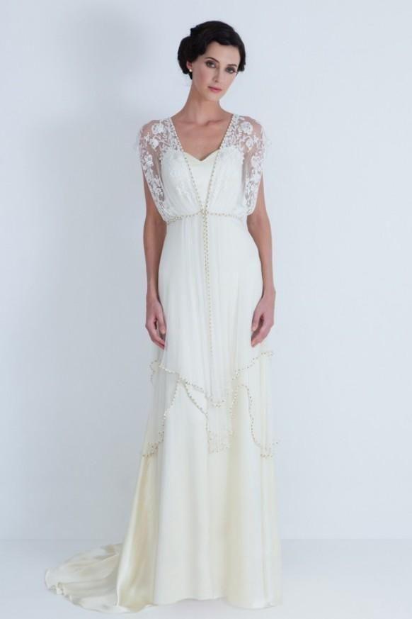 Vintage Special Design Brautkleid | Silberhochzeit | Pinterest ...