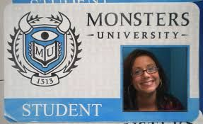 Resultado de imagen para afiches de monster university