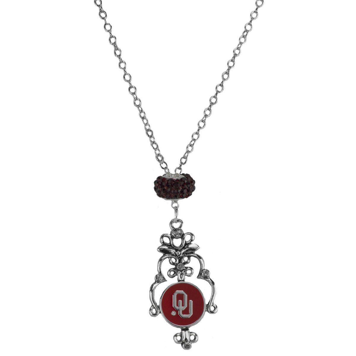 Oklahoma Sooners - Filigree Necklace