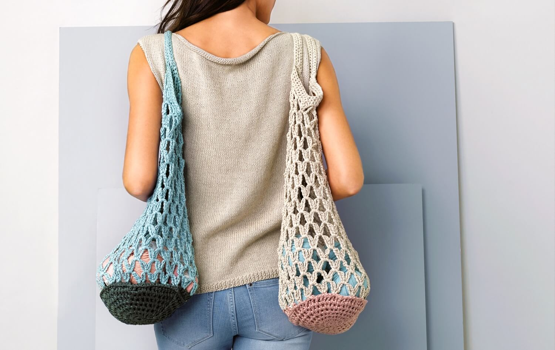 Photo of Foldable shopping bag – free crochet pattern