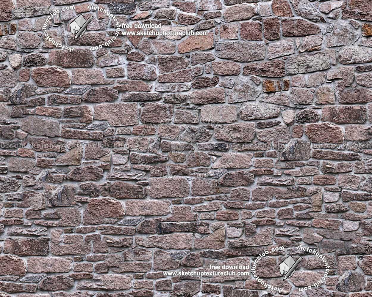 Stone Wall Texture Seamless Free