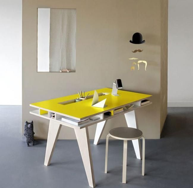 Cinco escritorios de diseño Muebles Furniture Pinterest
