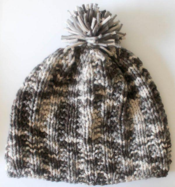 Garter Rib Beanie Free Knitting Pattern In Bernat Maker Home Dec