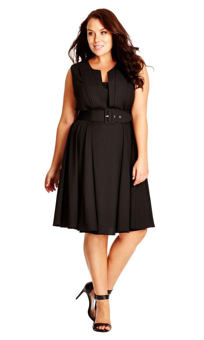 City Chic Vintage Veronica Dress - Women\'s Plus Size Fashion City ...