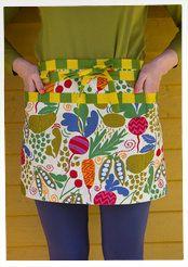 """""""Nyttan"""" garden apron in eco-cotton"""