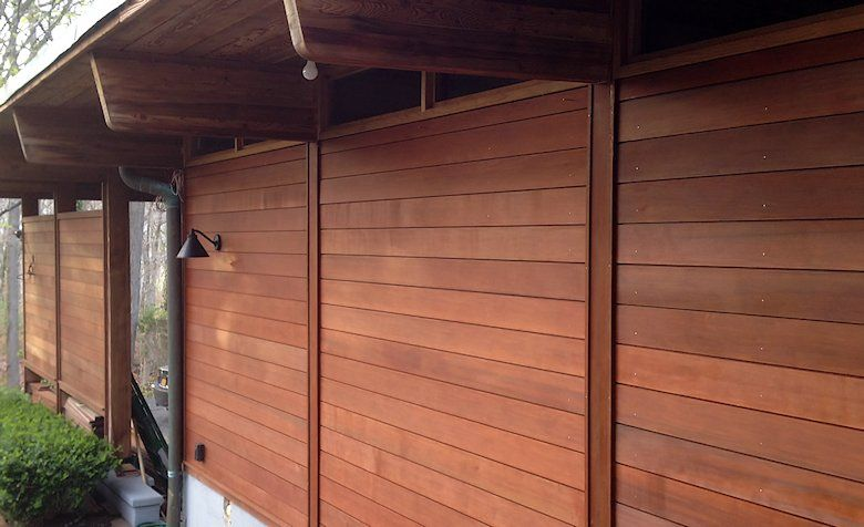 Shiplap siding custom milled 1x6 channel pattern profile for Horizontal cedar siding