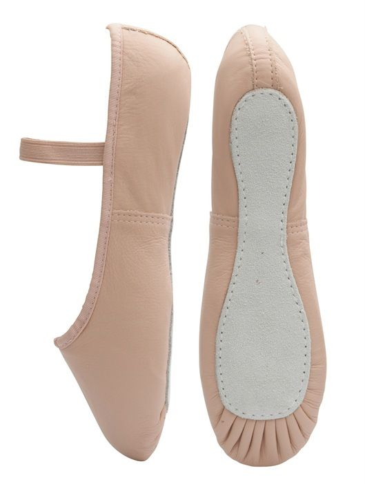 rumpf pink leather ballet shoes for all dancers