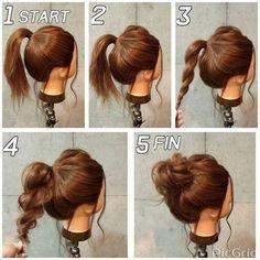 Einfache und schnelle Frisuren für mittleres Haar - beste Haarideen  #bobfrisur...