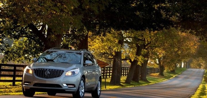 Buick Enclave And Gmc Acadia Top The 2013 American Made Index Gm Hopes This Will Increase Sales Courtesy Of Gm Authority Buick Buick Enclave Buick Gmc