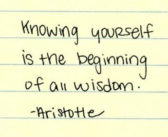 Knowing yourself-Aristotle | Words quotes, Quotable quotes ...