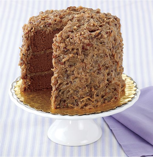 Gourmet Layered German Chocolate Cake order online for easy an