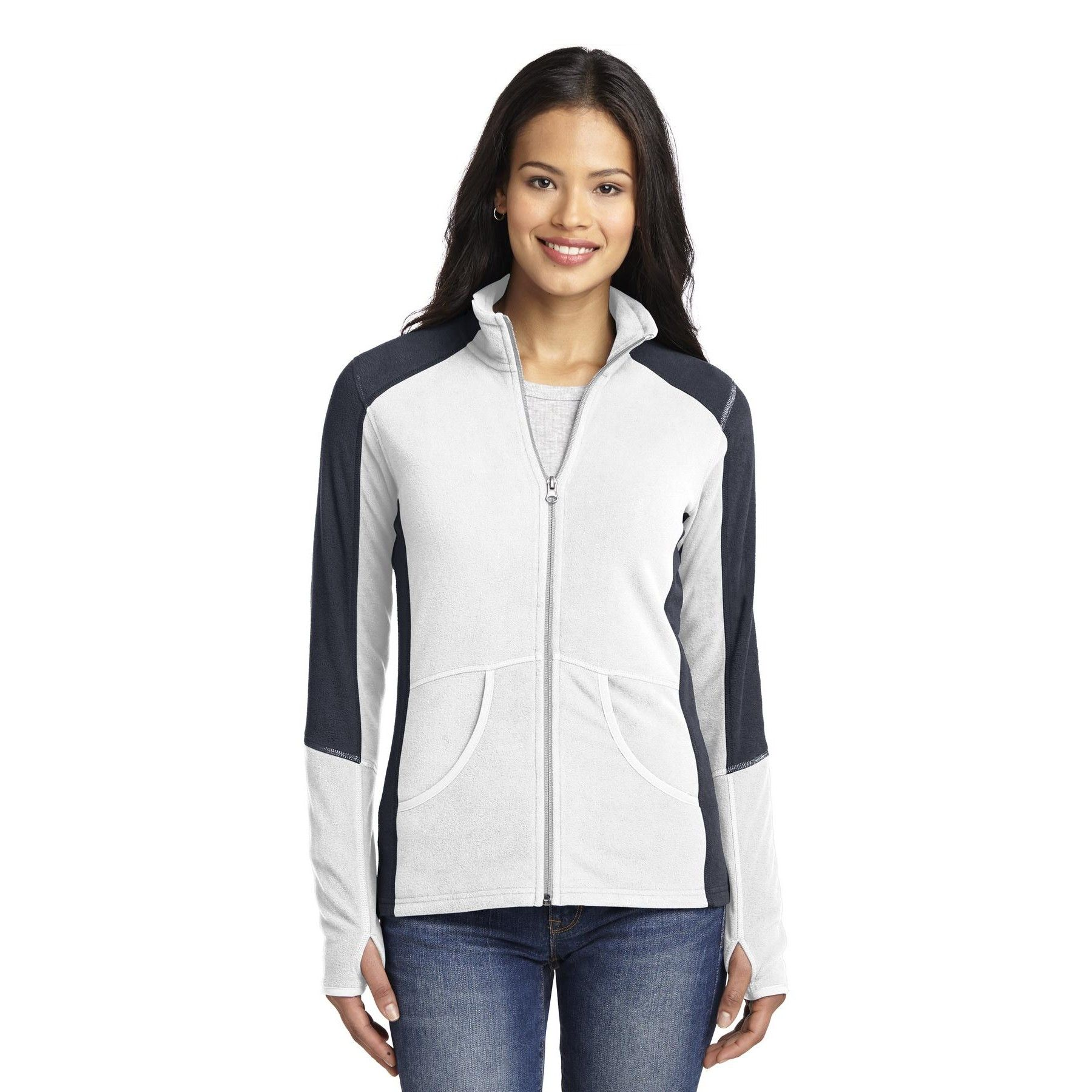 Port Authority® Vertical Hooded Soft Shell Jacket Ladies