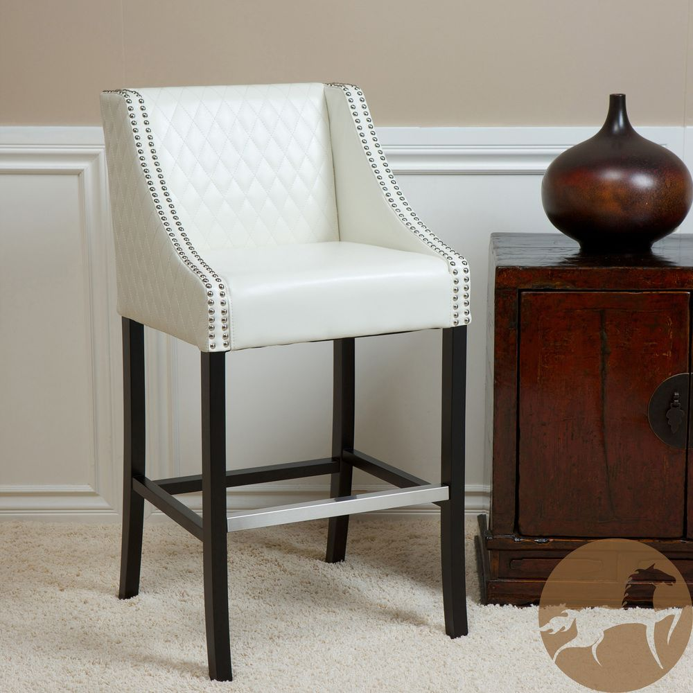 Miraculous Christopher Knight Home Milano Ivory Quilted Bonded Leather Dailytribune Chair Design For Home Dailytribuneorg
