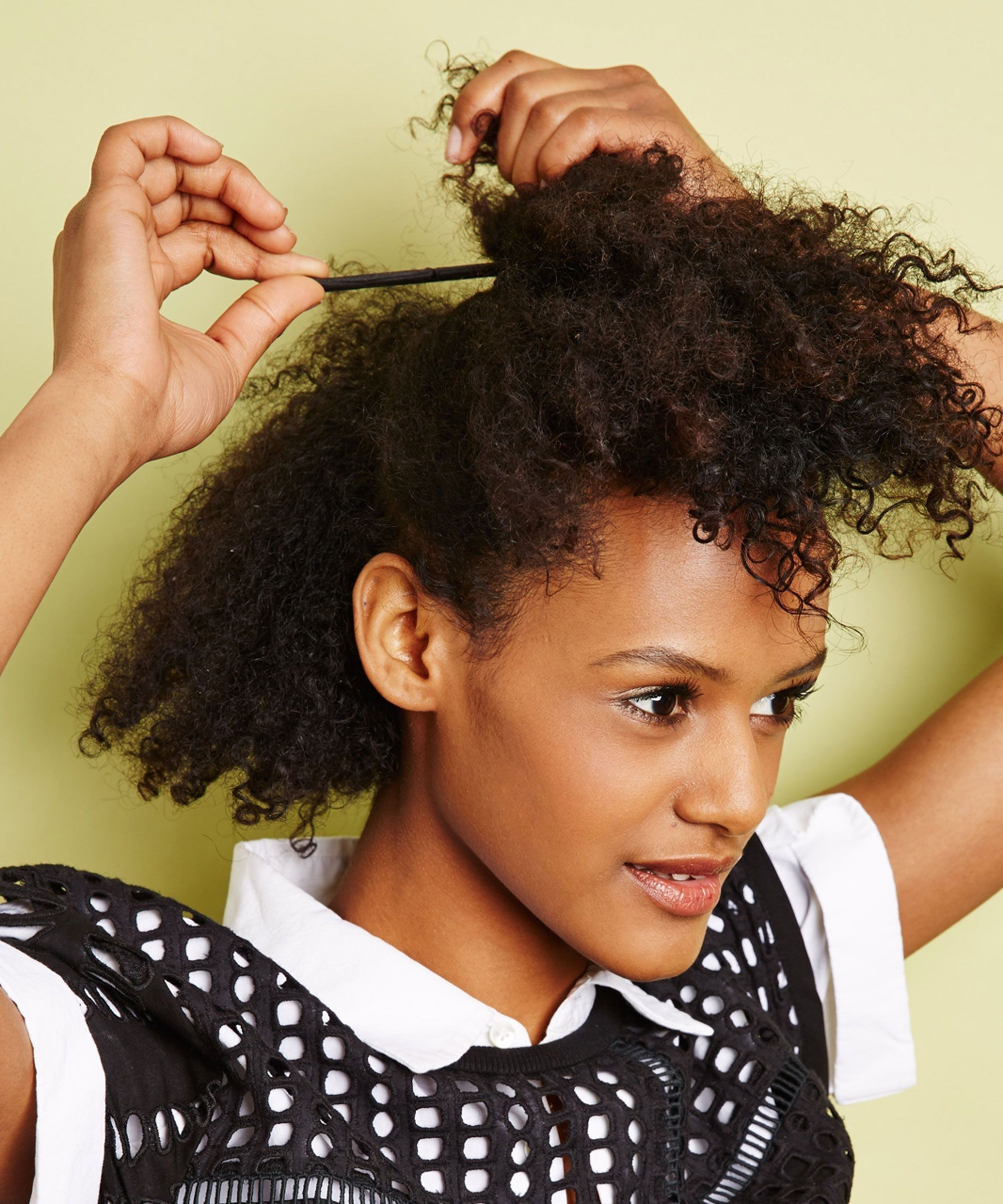 Quick Hairstyles For Nappy Hair Natural Hair Styles Hair Puff Hair Growth Regimen