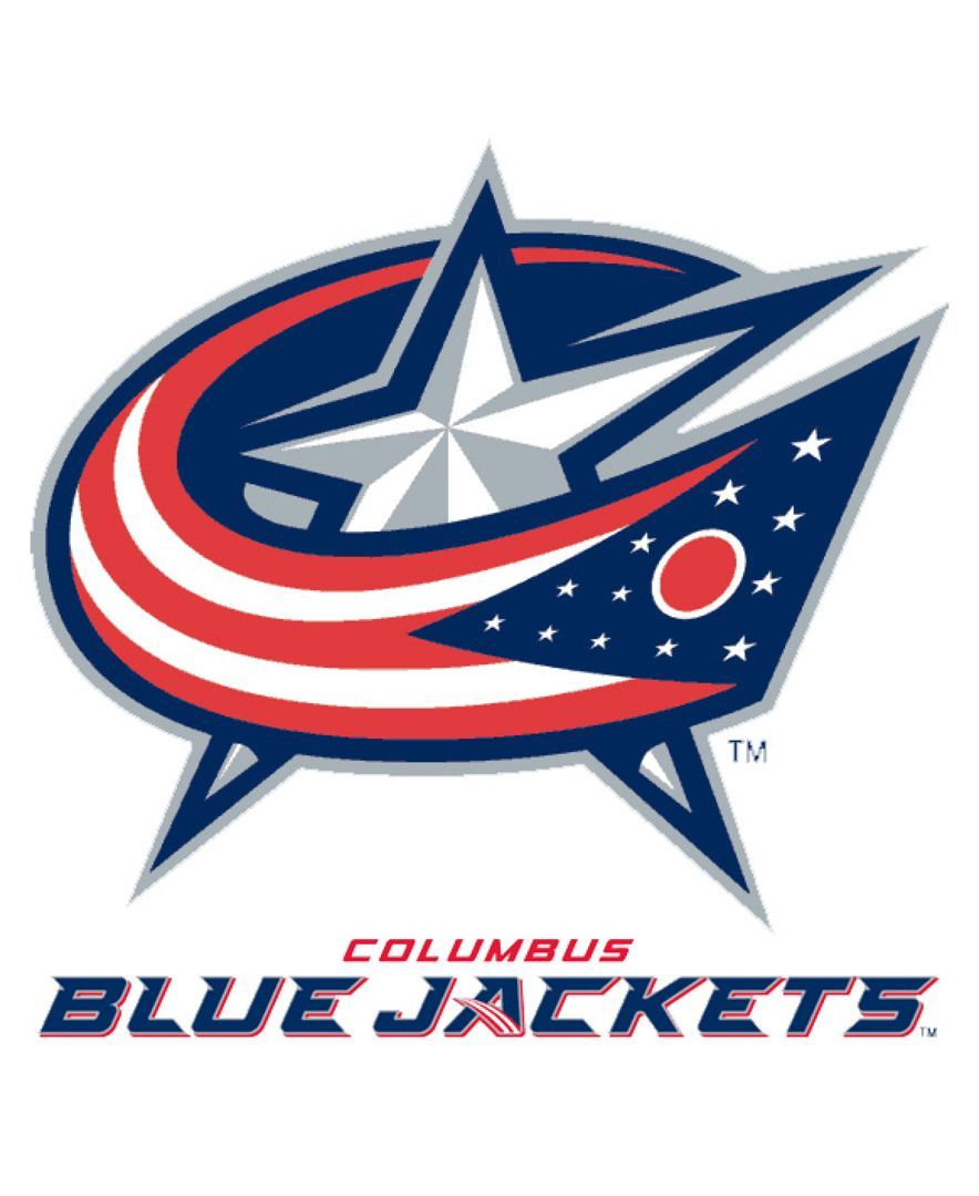 Rico Industries Columbus Blue Jackets Static Cling Decal