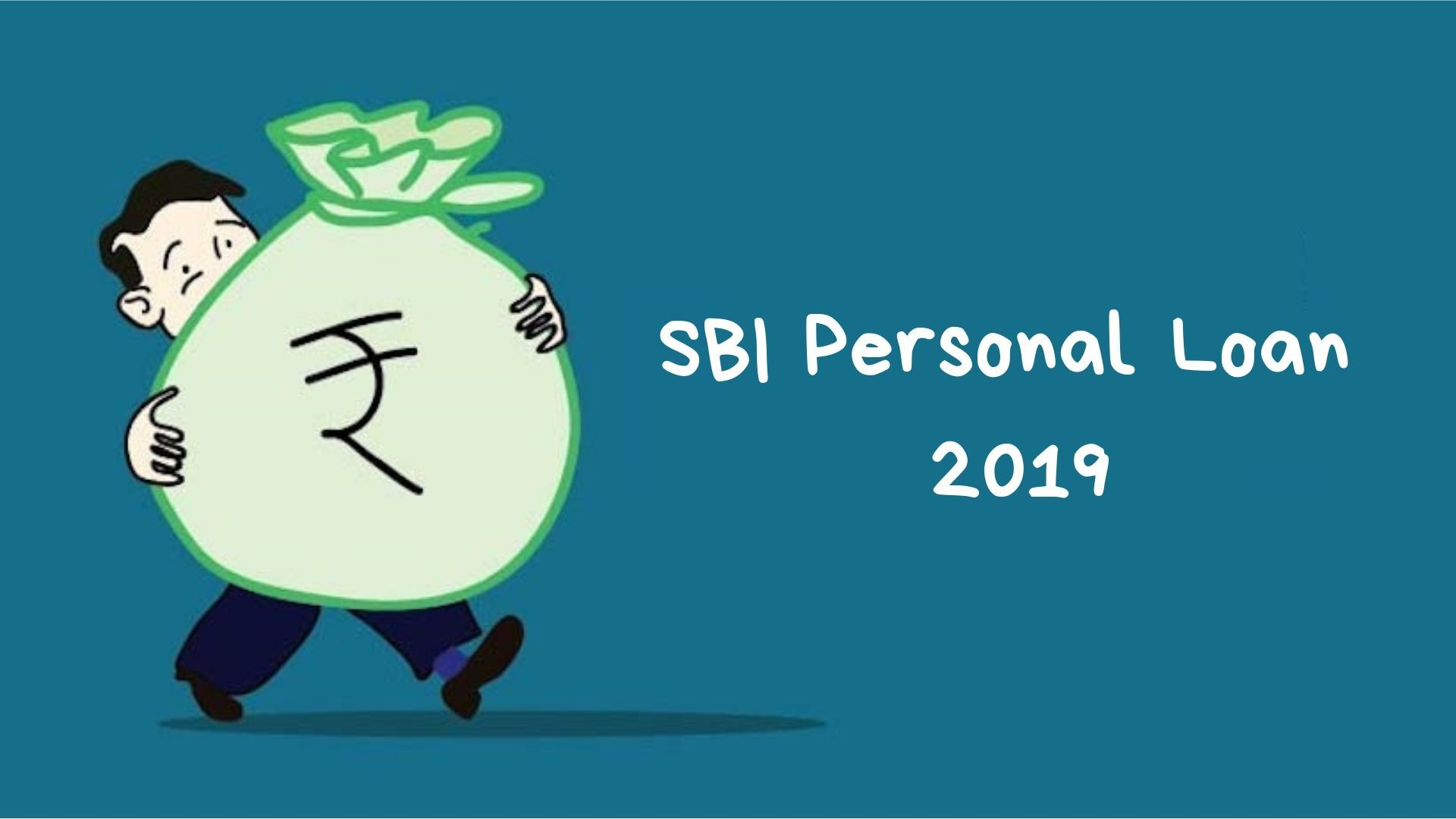 Why Sbi Personal Loan Is The Best Option In 2019 Personal Loans Loan Person