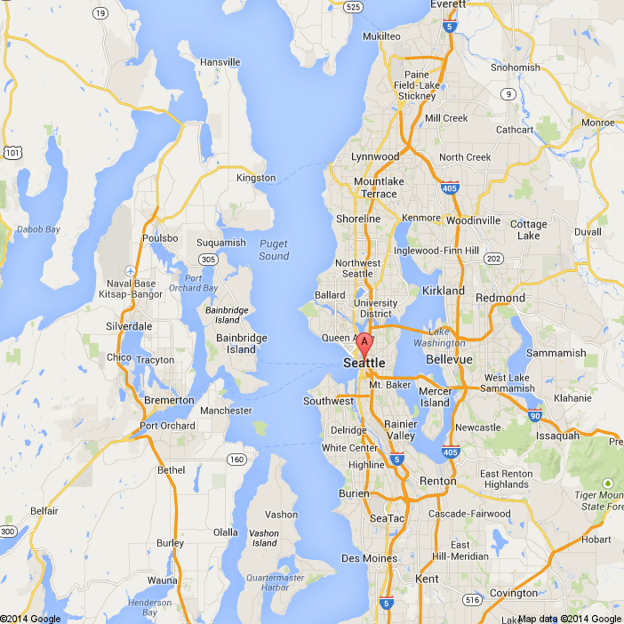 seattle washington - Google Maps | Map, Seattle washington ...