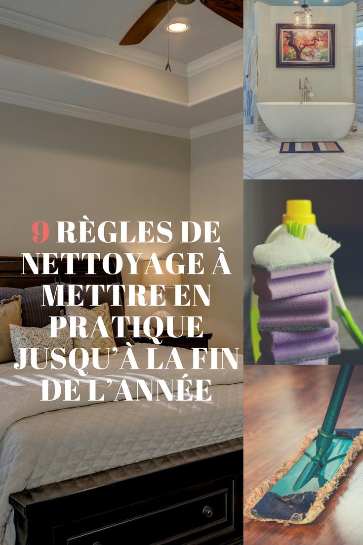 9 r gles de nettoyage mettre en pratique rapidement nettoyant pinterest nous pensons. Black Bedroom Furniture Sets. Home Design Ideas