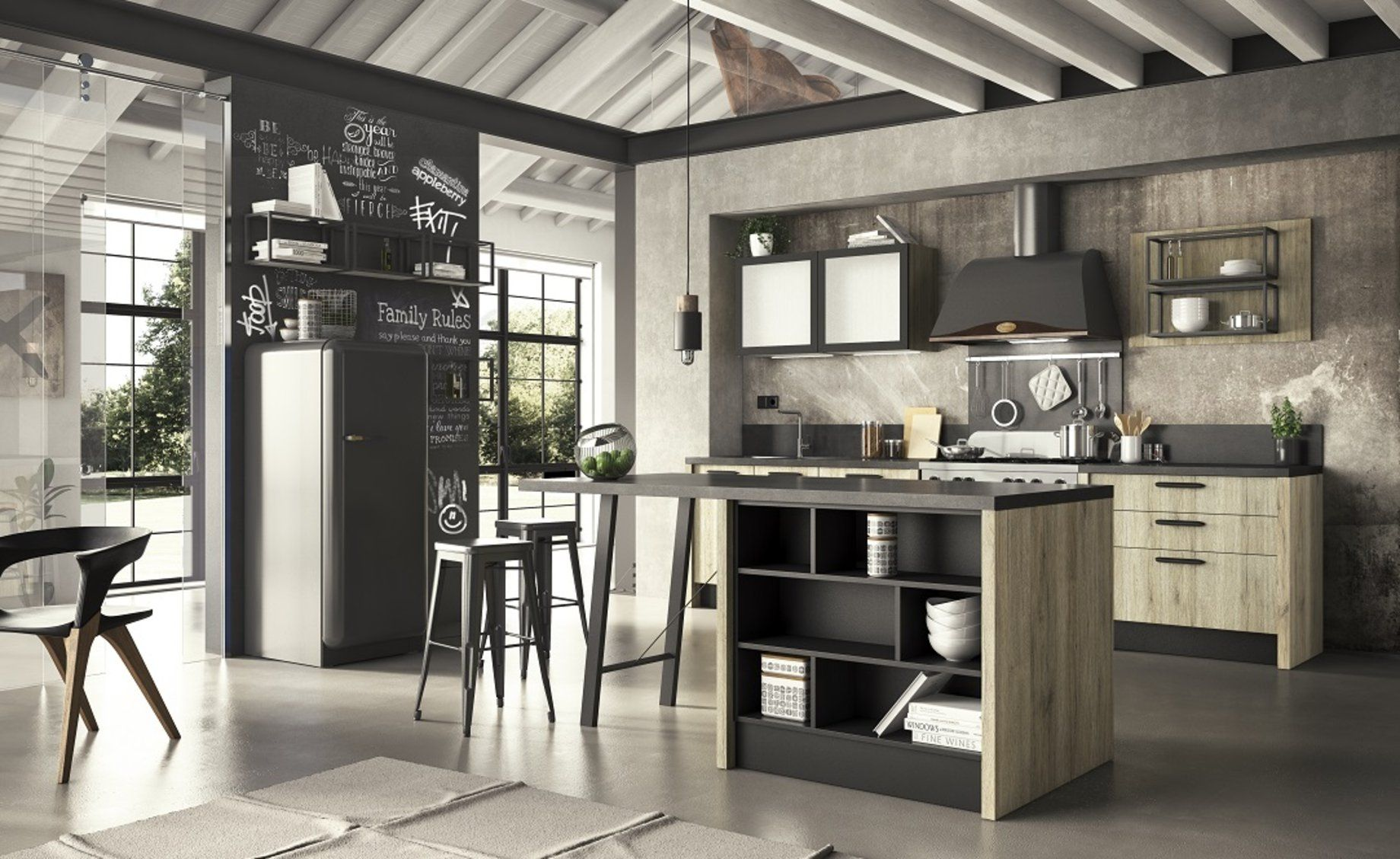 Cucina componibile Emma Factory – Conforama | sweet home ...