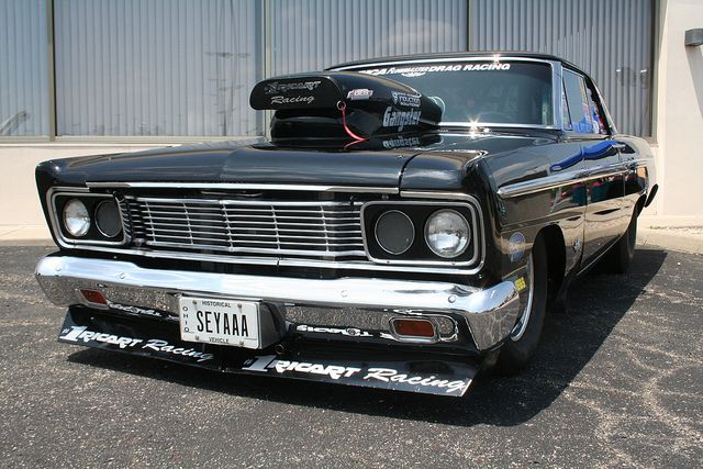 1965 Ford Fairlane Drag Car Drag Cars Ford Fairlane Fairlane