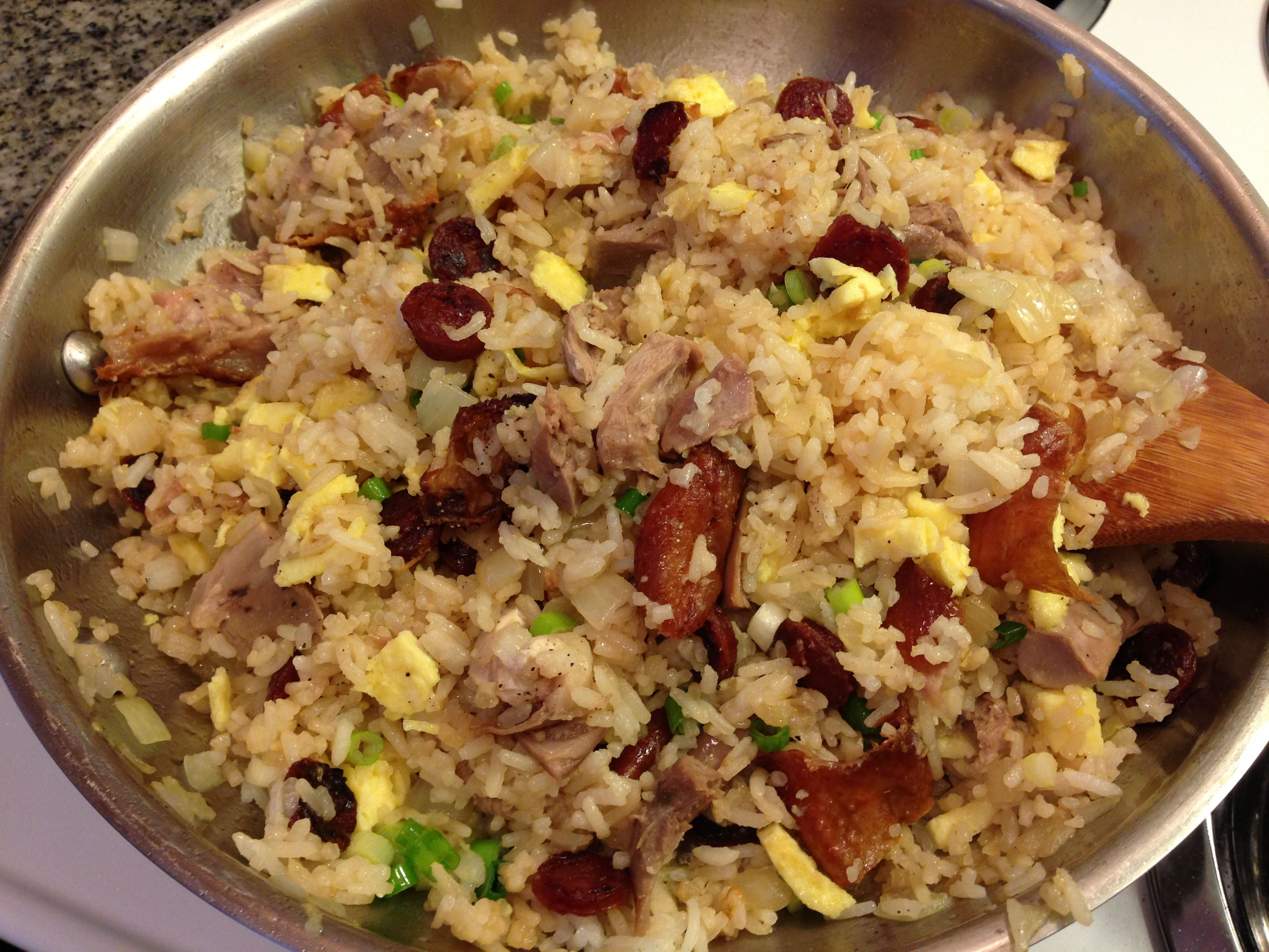 Roast duck fried rice! | What\'s for Dinner - Poultry | Pinterest ...