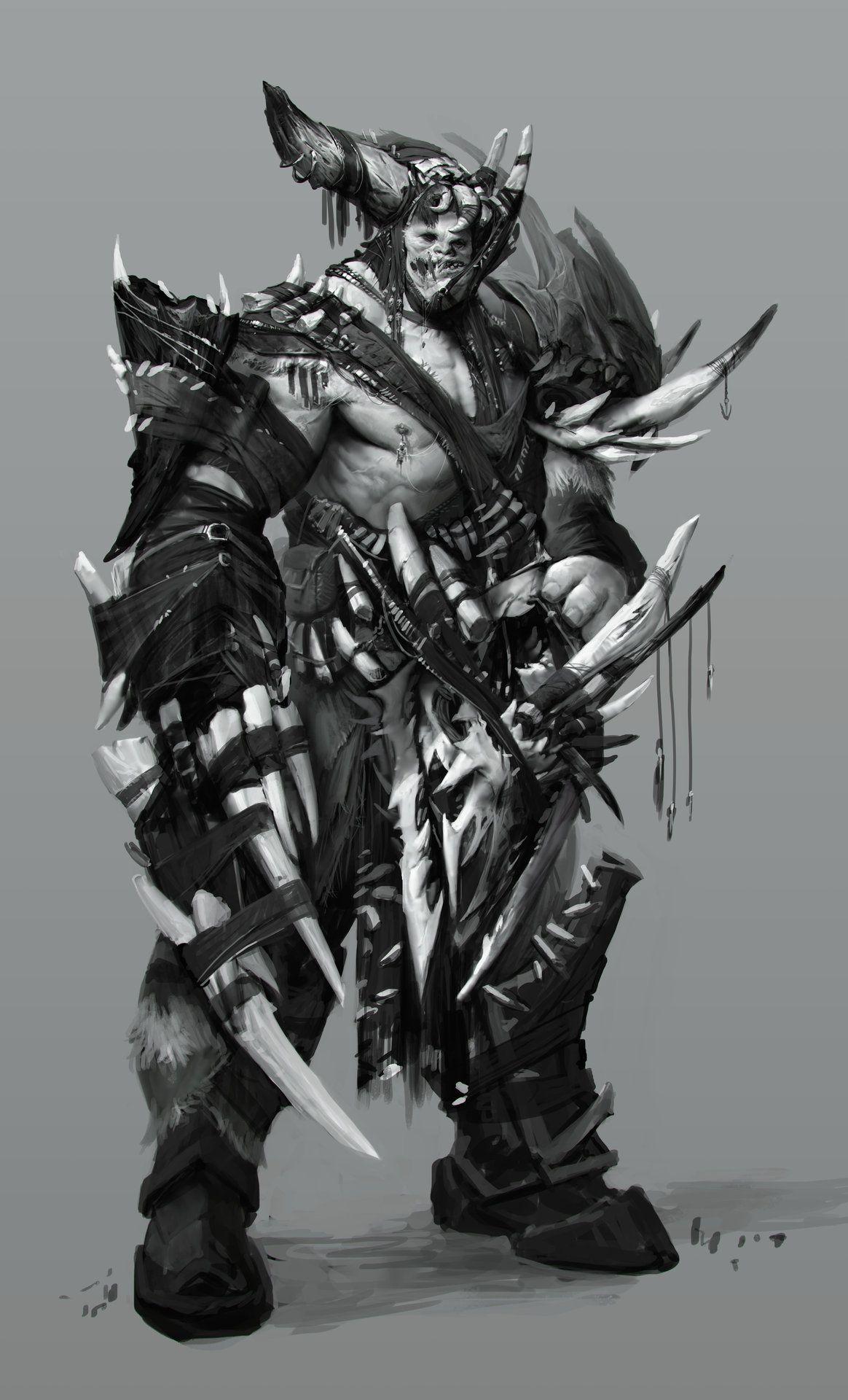 ArtStation - Monstrosity - Kain, Anthony Jones