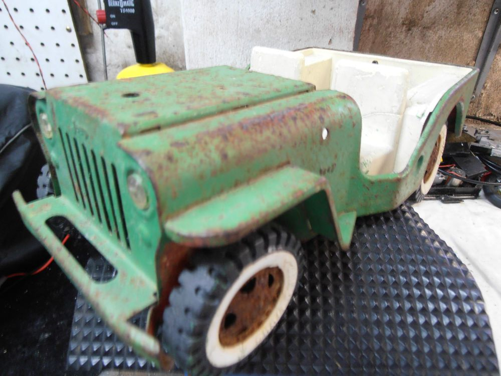 Early Very Collectable Tonka Tin Steel Jeep Made In New Zealand In Cars Trucks Vans Ebay