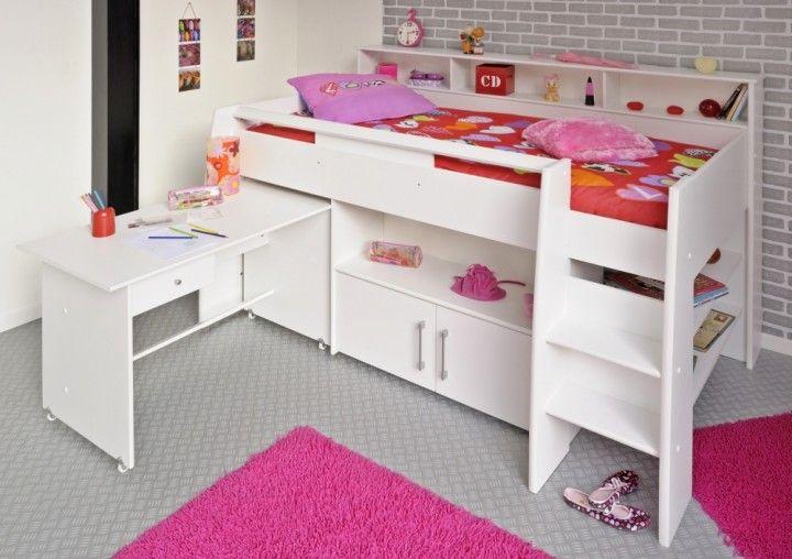 Multifunktions Hochbett multifunktionsbett hochbett finn für kinder