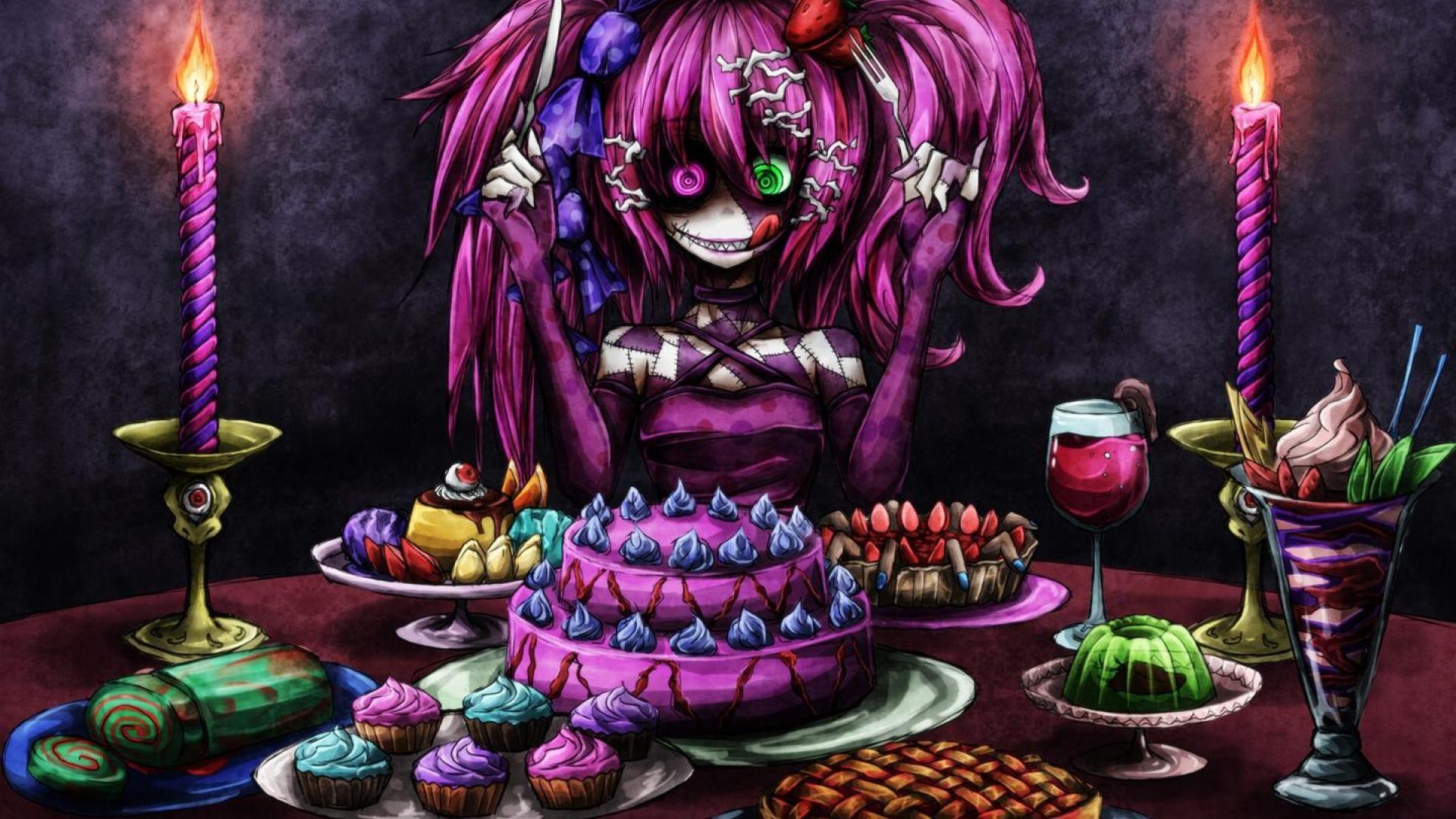 Pin By Robert Beltran On Anime Anime Halloween Anime Vocaloid Halloween anime wallpaper hd