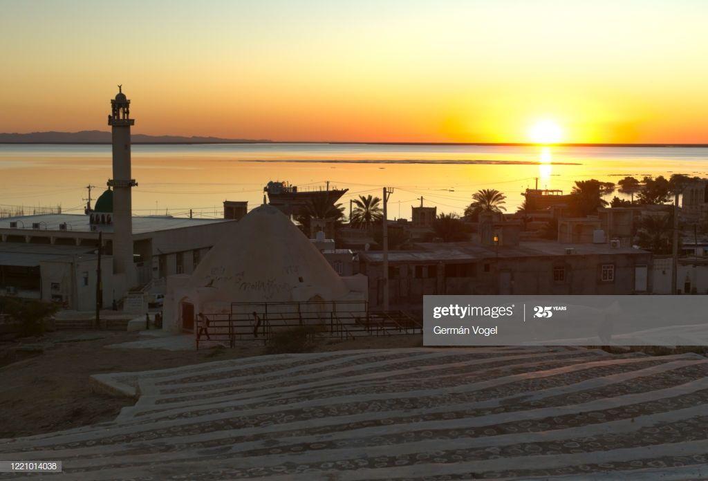 Peaceful Sunset In Bandarelaft Village Of Qeshm Island Persian Gulf Iran Photogr #Ad, , #Aff, #Village, #Qeshm, #Bandarelaft, #Peaceful