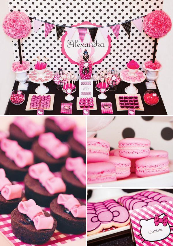 Hello Kitty Party Perfect For A Sweet 16 Hello kitty Birthday