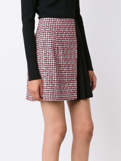 Mugler 'Jupe' asymmetric skirt