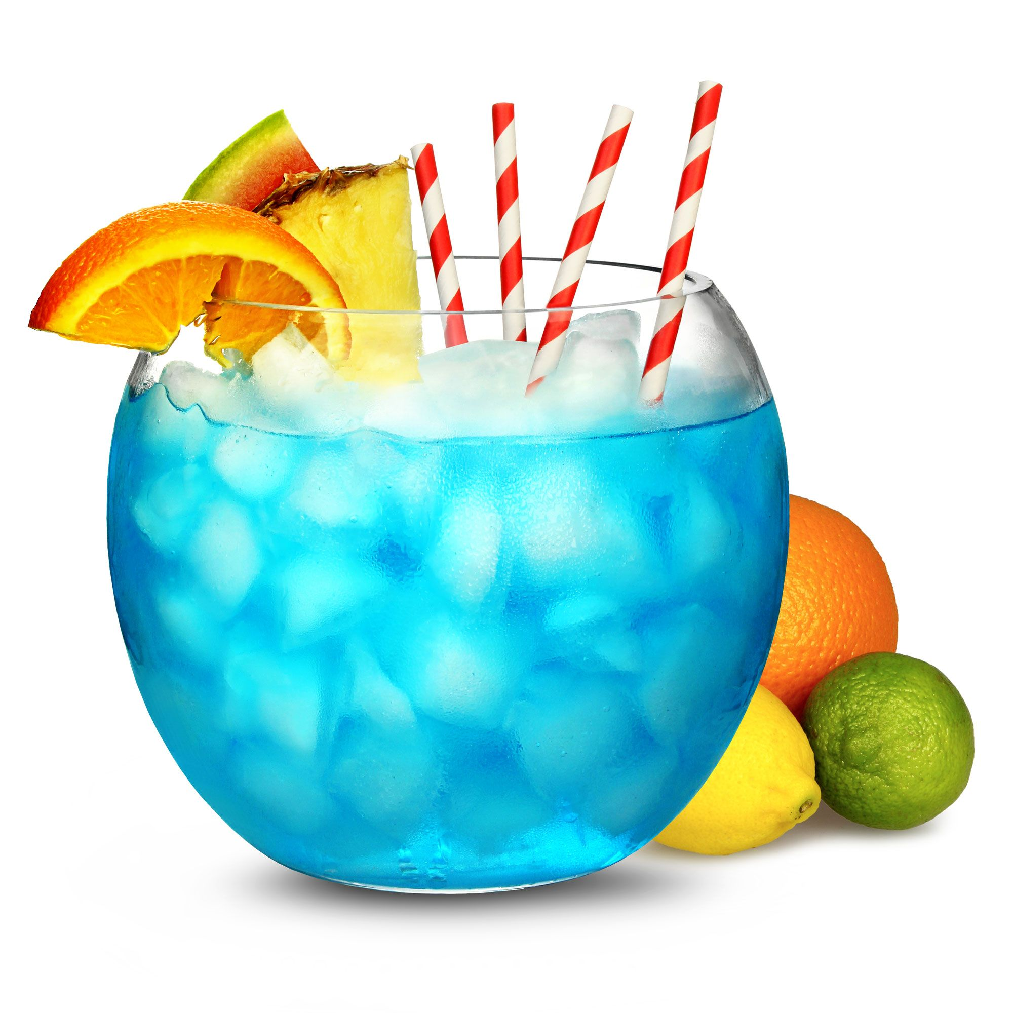 Margarita drinks glass cocktail fish bowl 92oz for Fish bowl punch