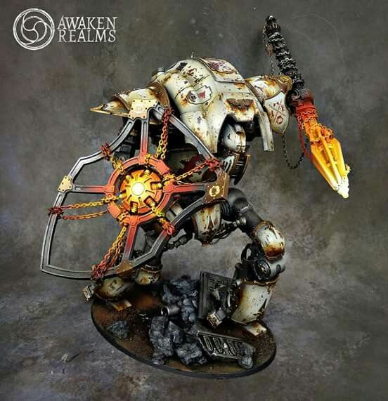 Imperial knight #40k #wh40k #warhammer40k #40000 #wh40000 #warhammer40000…