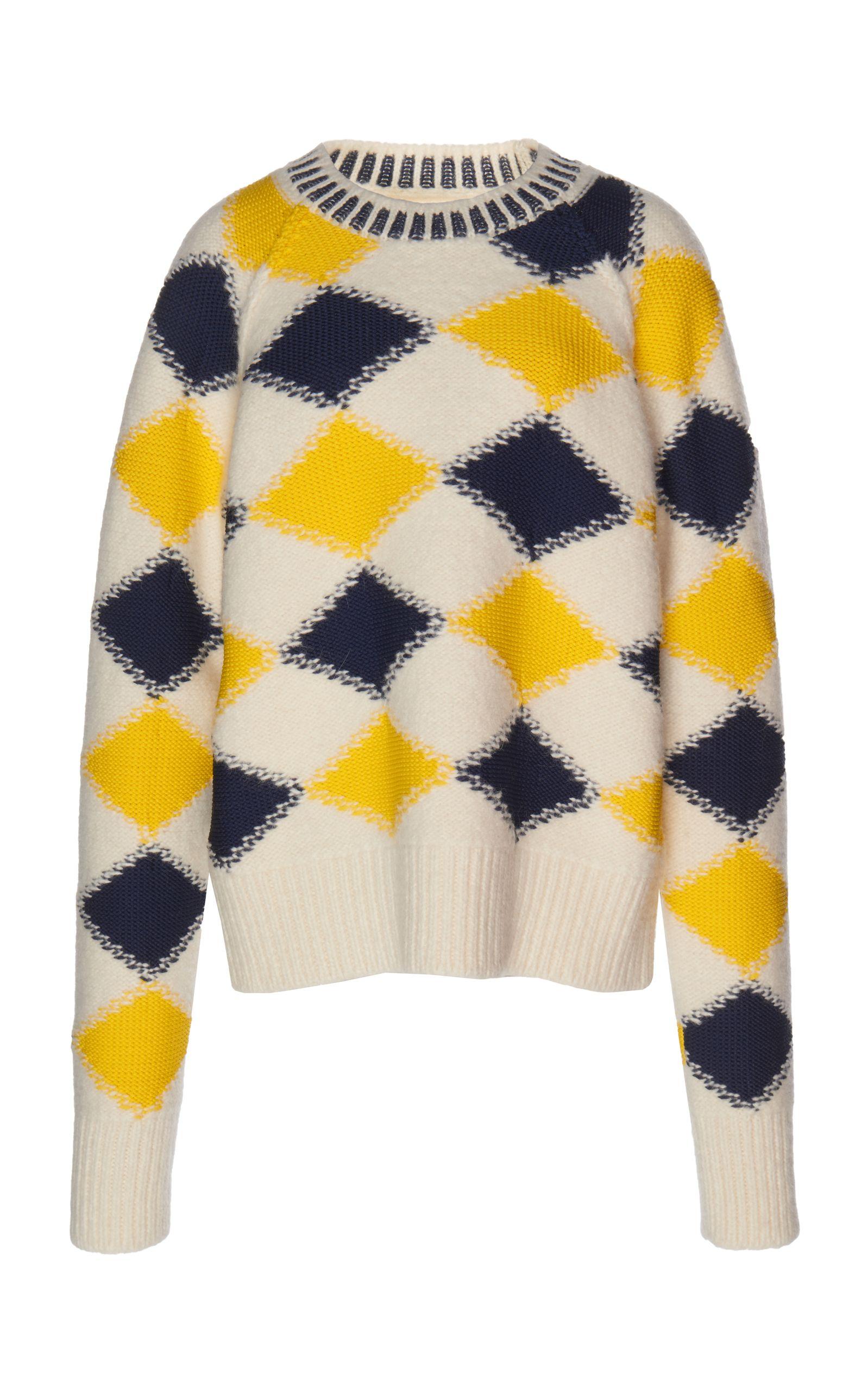 4482d7e3c89 Maison Margiela argyle pullover, fun take on a classic | Fashion ...