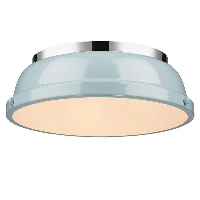Classic Dome Enameled Ceiling Light