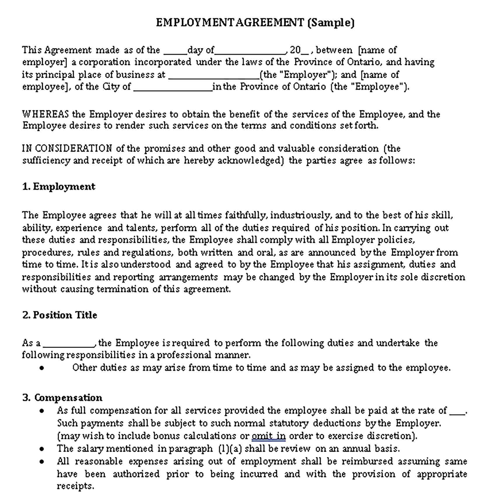 This form can also be used if an employee is set to leave the company with trade secrets or highly sensitive information. Restaurant Non Compete Agreement Template Sample Agreement Competing Business Template