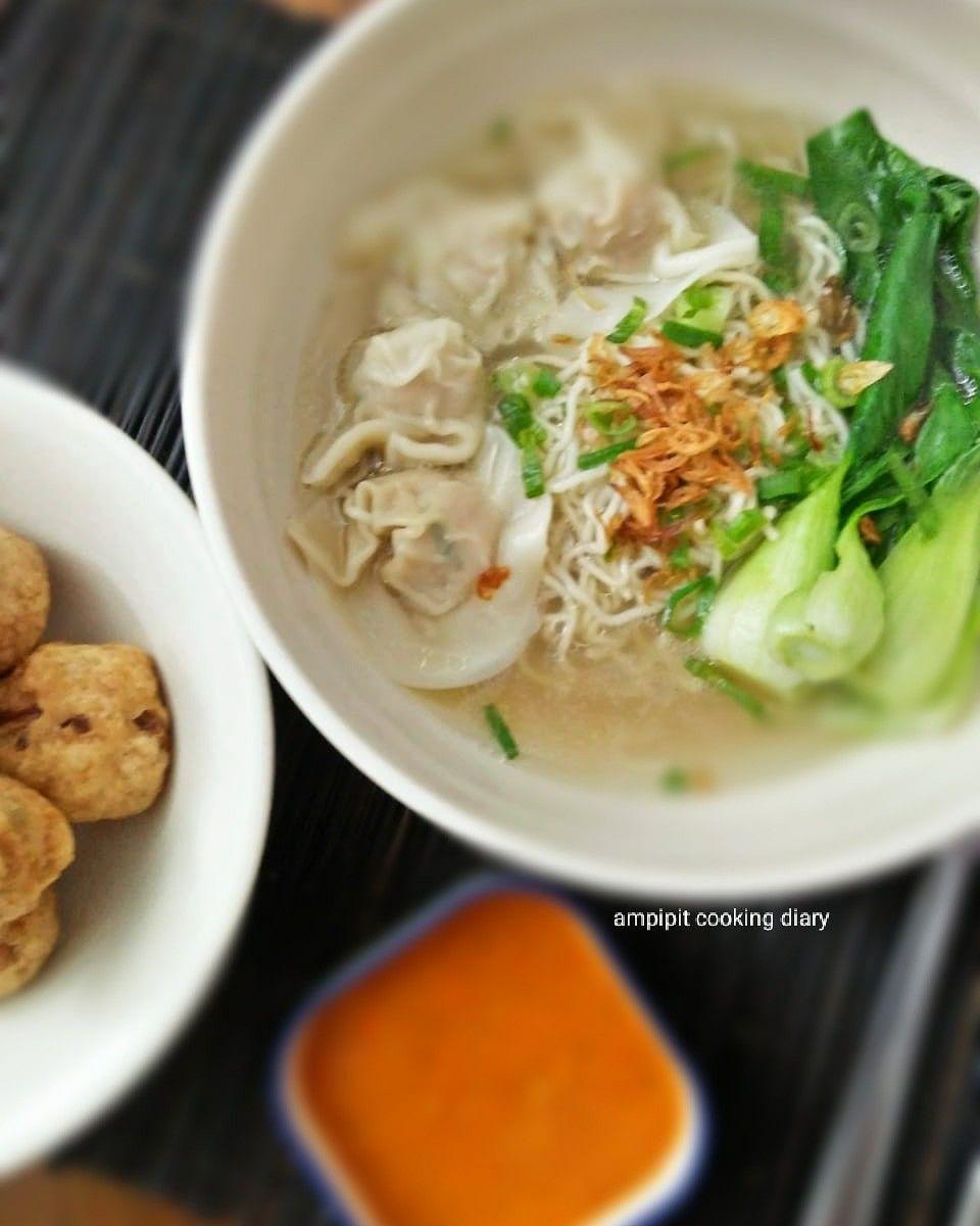 Wonton Noodle Soup Wonton Makanan Dim Sum