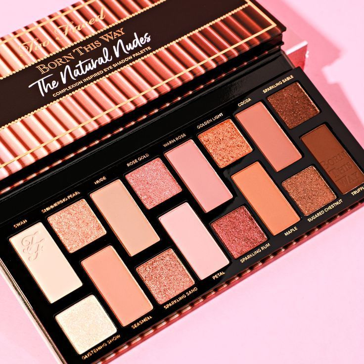 Born This Way The Natural Nudes Eye Shadow Palette | TooFaced