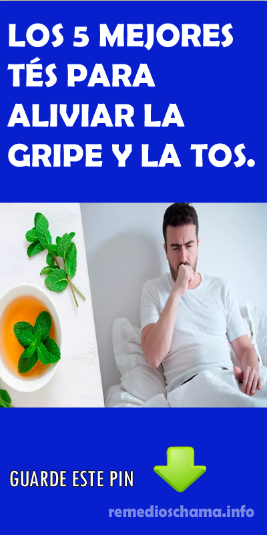Los 5 Mejores Tés Para Aliviar La Gripe Y La Tos La Hierbabuena Es Excelente Para Disolver La Mucosidad El Limón Es Un Antibiótico M Health Remedies Medicine