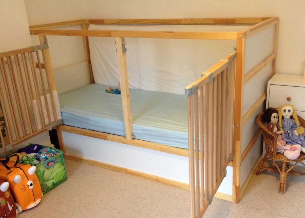 and the little one said… Ikea bed, Ikea toddler bed