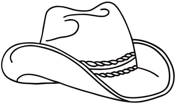 Cowboy Hat Hot By An Arrow Coloring Pages Cowboy Hat Drawing Coloring Pages Cowboy Hats