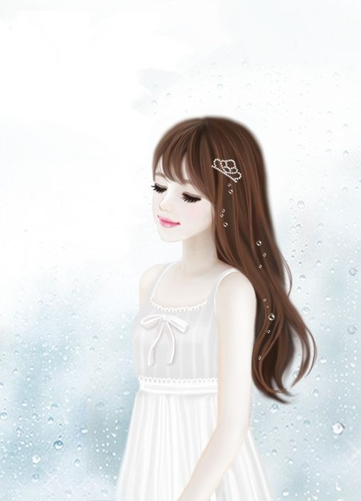 Too Cute Cute Korean Cartoon Girls Pinterest
