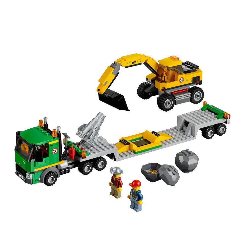 Lego City Excavator Transport 4203 Lego Toys R Us Lego City Sets Lego City Lego Truck