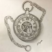 bildergebnis f r pocket watch tattoo sketch clock. Black Bedroom Furniture Sets. Home Design Ideas