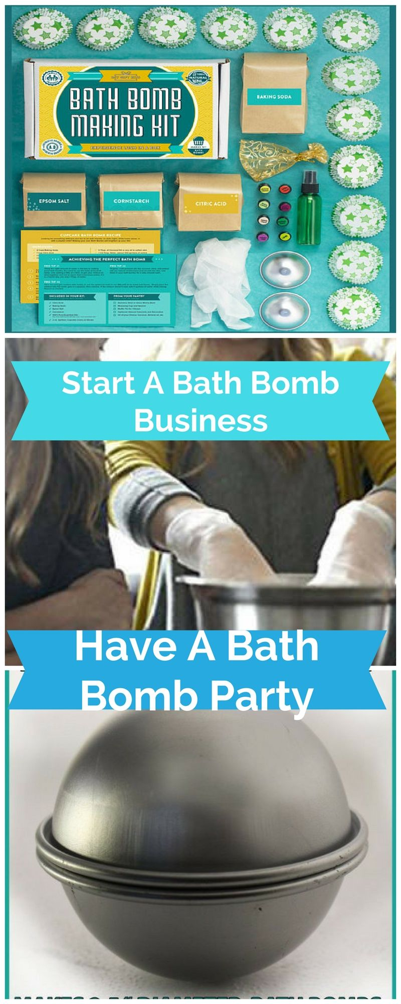 DELUXE- Bath Bomb Making Kit with 100/% Pure Therapeutic Grade Essential Oils, Makes 12 DIY Lush Cupcake Mold Bath Bombs Gift Box Included