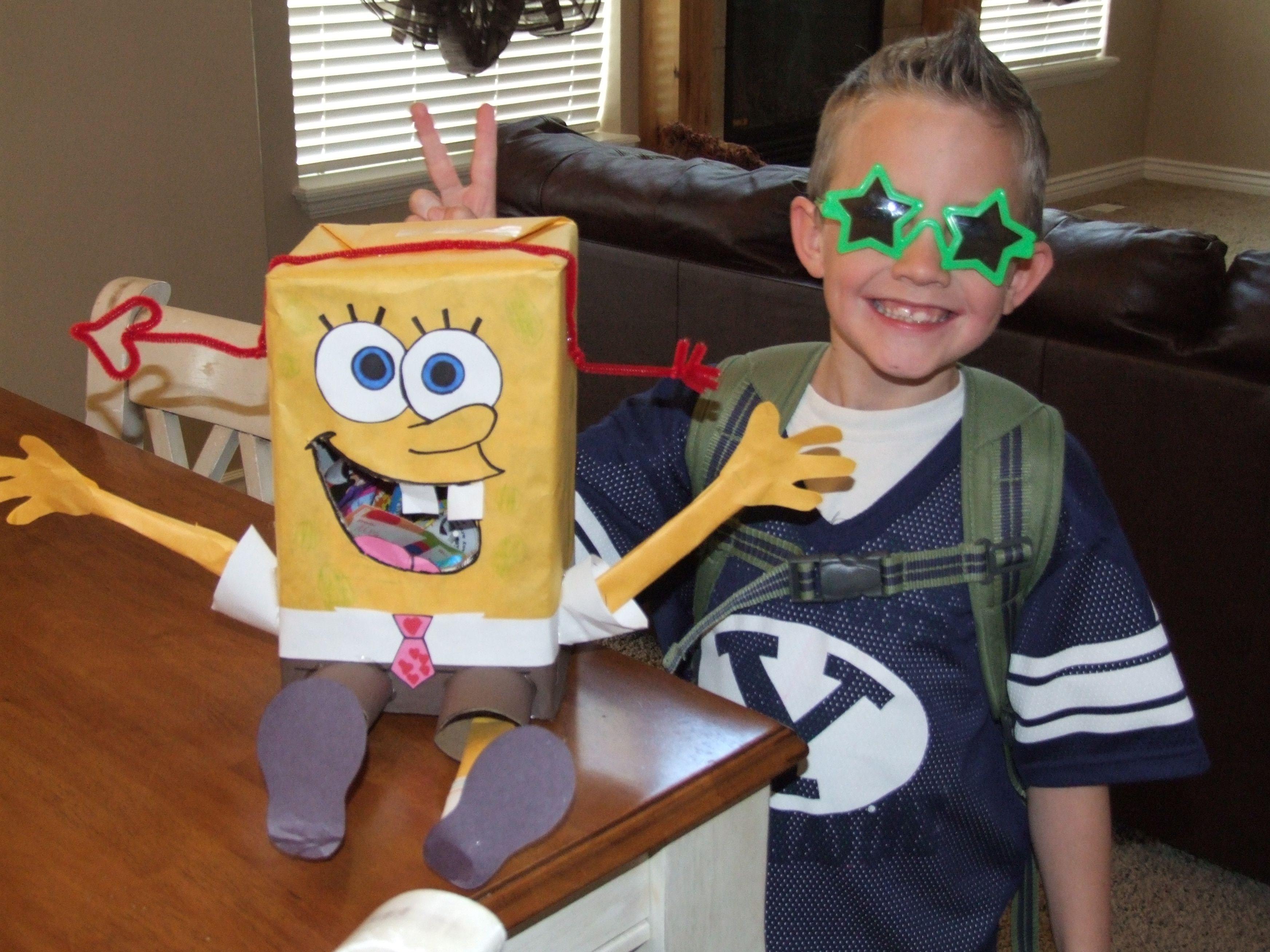 Schön Sponge Bob Valentine Box
